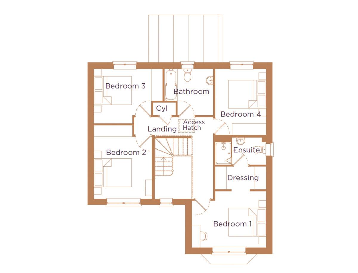 the-birch-four-bedroom-first-floor